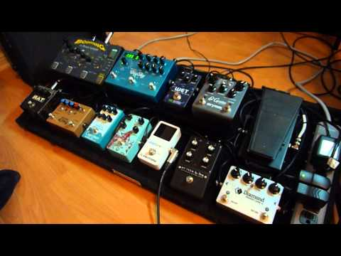 Pedalboard Demo For Ambient Guitar (playing)