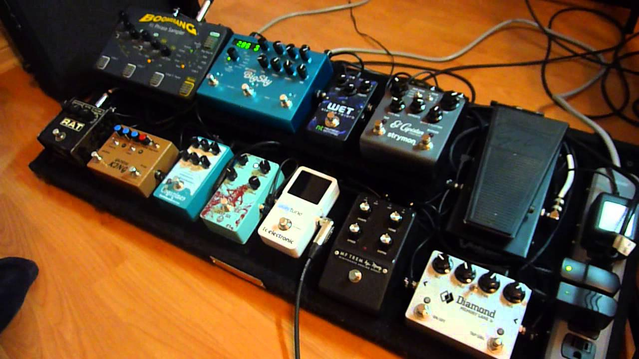 pedalboard demo for ambient guitar playing youtube. Black Bedroom Furniture Sets. Home Design Ideas