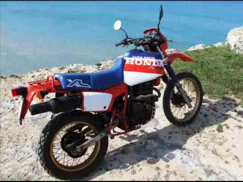 honda xl 600 paris dakar youtube. Black Bedroom Furniture Sets. Home Design Ideas