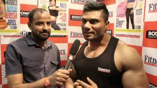 Indian bodybuilder Wasim Khan International Bodybuilding Interview -FitnessGuru