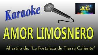 AMOR LIMOSNERO -Karaoke- Arreglo por JLG