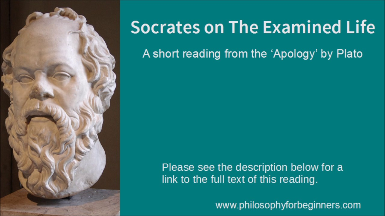 an examination of socratess philosophy An examination of the laches, meno, and protagoras in the socratic dialogues of plato, socrates often argues against the pretence of knowledge in his interlocutors in the case of the laches, meno, and protagoras dialogues, the pretence is the knowledge of virtue, among other things.