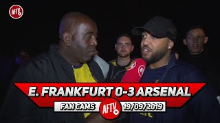 E. Frankfurt 0-3 Arsenal | Our Away Fans Were Brilliant Today!