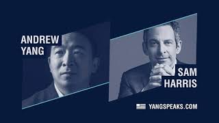 How COVID Accelerates the Arrival of our Future - Sam Harris joins Andrew on Yang Speaks