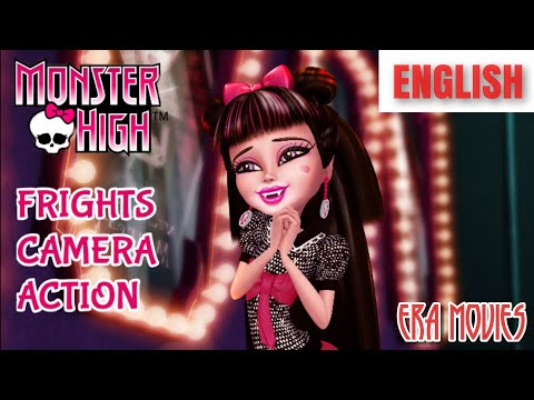 Hollywood English Monster High Frights, Camera, Action (2014) Full Movie