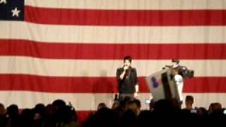 Adam Lambert live at Mirmar Naval Base in San Diego, CA on May 8, 2...