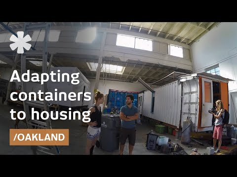 Post-zoning in Containertopia: SF factory of container homes