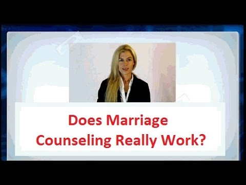 how to make marriage counseling work
