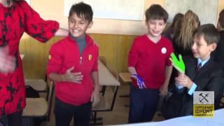 Урок Мира в школе №1 г.Донецка