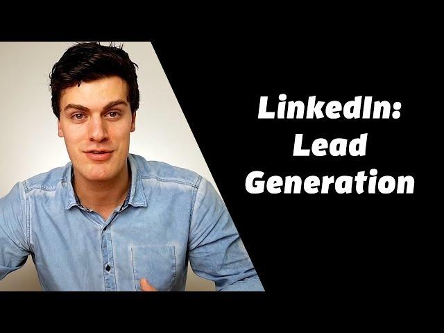 LinkedIn Lead Generation Tool (super handig)