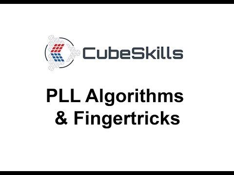 PLL Algorithms & Fingertricks [From CubeSkills]