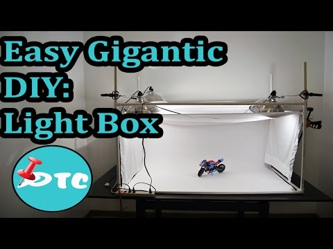 How To Make Cheap Diy Light Box