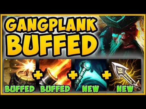 WTF RIOT 100% MADE IT TOO EASY TO GET FED ON GANGPLANK GANGPLANK TOP GAMEPLAY - League of Legends