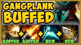 WTF! RIOT 100% MADE IT TOO EASY TO GET FED ON GANGPLANK! GANGPLANK TOP GAMEPLAY! - League of Legends