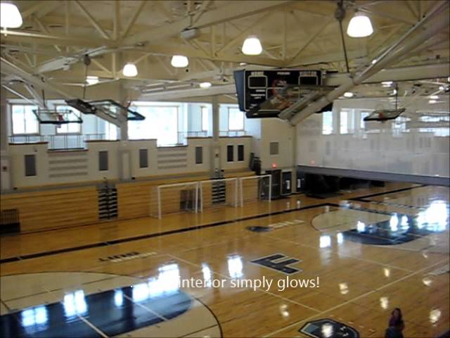 Gym Franklin High School Franklin MA