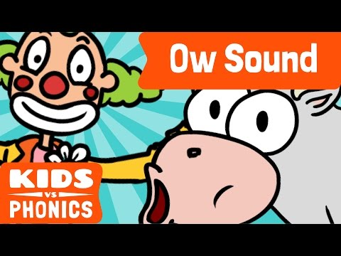 OW | Fun Phonics |  How to Read |  Made by Kids vs Phonics