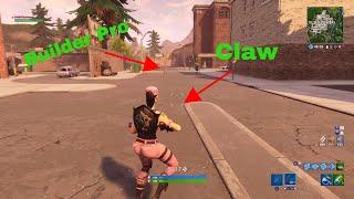 Builder Pro + Claw vs Builder Pro - Fortnite Battle Royale -