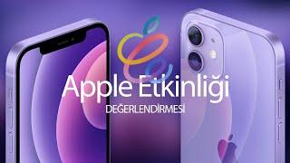 M1 iMac, M1 iPad ve Mor iPhone - Apple 20 Nisan Sunum Değerlendirmesi.