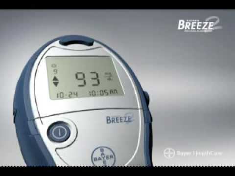 Breeze 2 Blood Glucose Monitoring System - Instructions for Use (Part 1 of 2)
