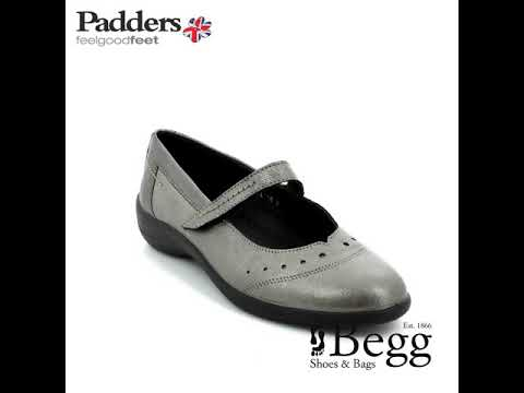 Padders Rowyn H212-18 Pewter comfort shoes