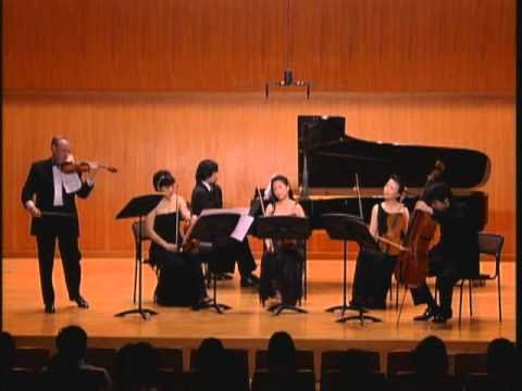 Ensemble OPUS E. Chausson Concert for Piano and Violin 1st Mov.