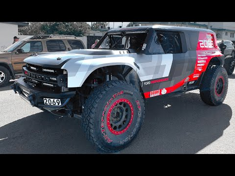 SPOTTED! 2020 Ford Bronco R! Baja 1000 Full Walk Around!