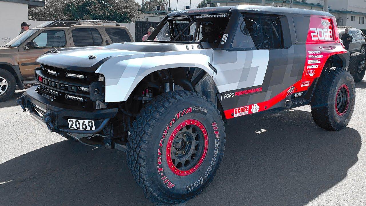 SPOTTED! 2020 Ford Bronco R! Baja 1000 Full Walk Around ...