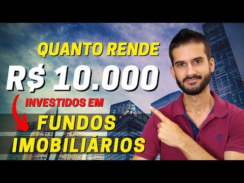 Quanto Rende Investir 10 mil reais em Fundo Imobiliário?