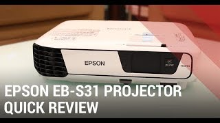Epson EB-S31 SVGA Projector - Review India