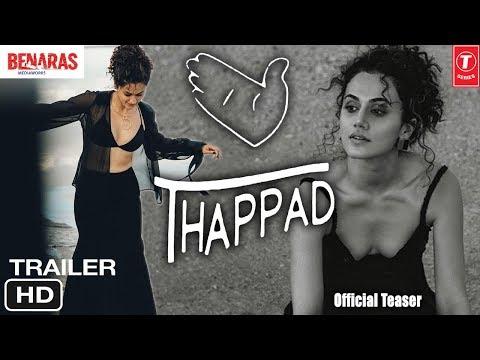 Thappad Movie Trailer | Anubhav Sinha Film | Taapsee Pannu - Bollywood Movie Details Mp3