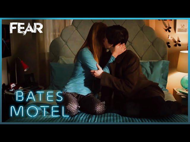 Norman Comforts Bradley   Bates Motel
