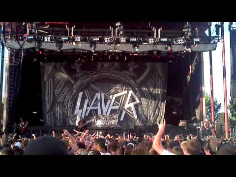 Slayer- Mandatory Suicide 7/04/2012 /Mayhem Festival/  Nampa, ID