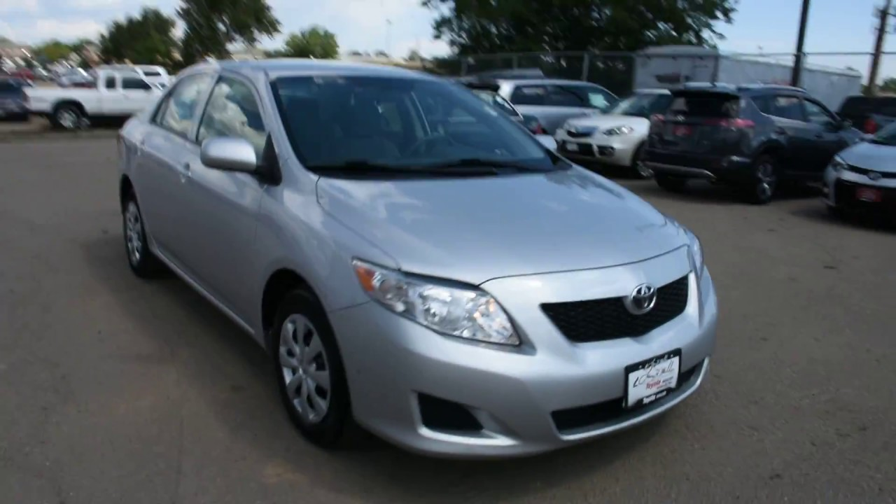 Good 2010 Toyota Corolla At Larry H. Miller Toyota Boulder
