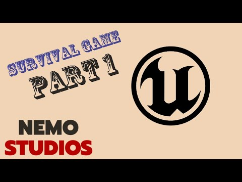 Survival Multiplayer Game | UE4 Tutorial | Part 1 - Project Setup | Nemo Studios thumbnail