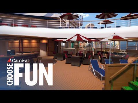 Carnival Horizon: Virtual Tour | Carnival Cruise Line (with audio description)