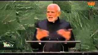 PM Shri Narendra Modi speech at United Nations General Assembly in New York.