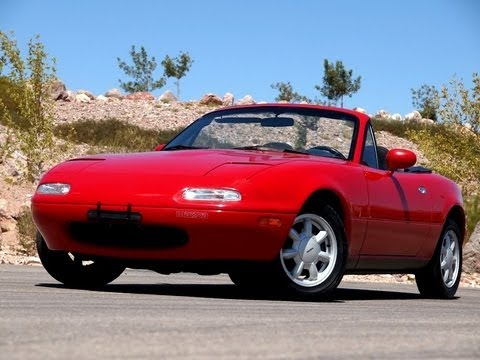 Mazda Las Vegas >> 1992 Mazda Miata MX-5 - Test Drive - Viva Las Vegas Autos - YouTube