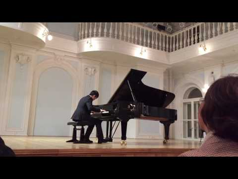"""Chopin - Etude Op. 10 No. 12 """"Revolutionary"""" /康峰慎(Kang Feng Shen)"""