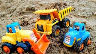 Мультики про машинки Синий трактор и самосвал Машинки Детские мультики