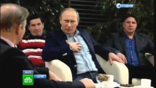 Владимир Путин посмотрел фильм «Легенда № 17» о Валерии Харламове