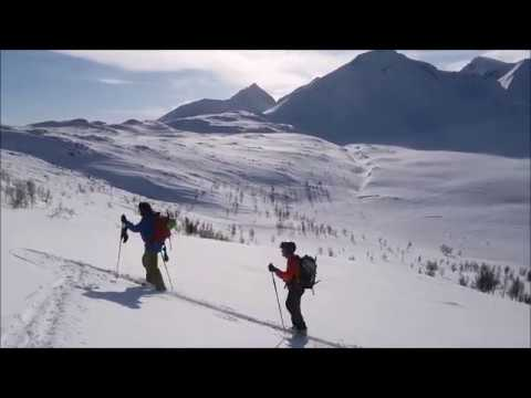 Pico Russelvefjellet Alpes de Lyngen Noruega 19 marzo 2018 La meteo que viene