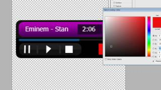 Photoshop: Make a mp3 player interface design (part 2)