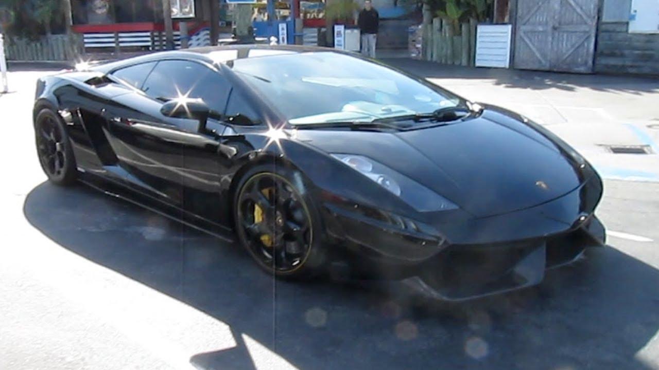 Tuned Black Lamborghini Gallardo R70 By Renown Youtube