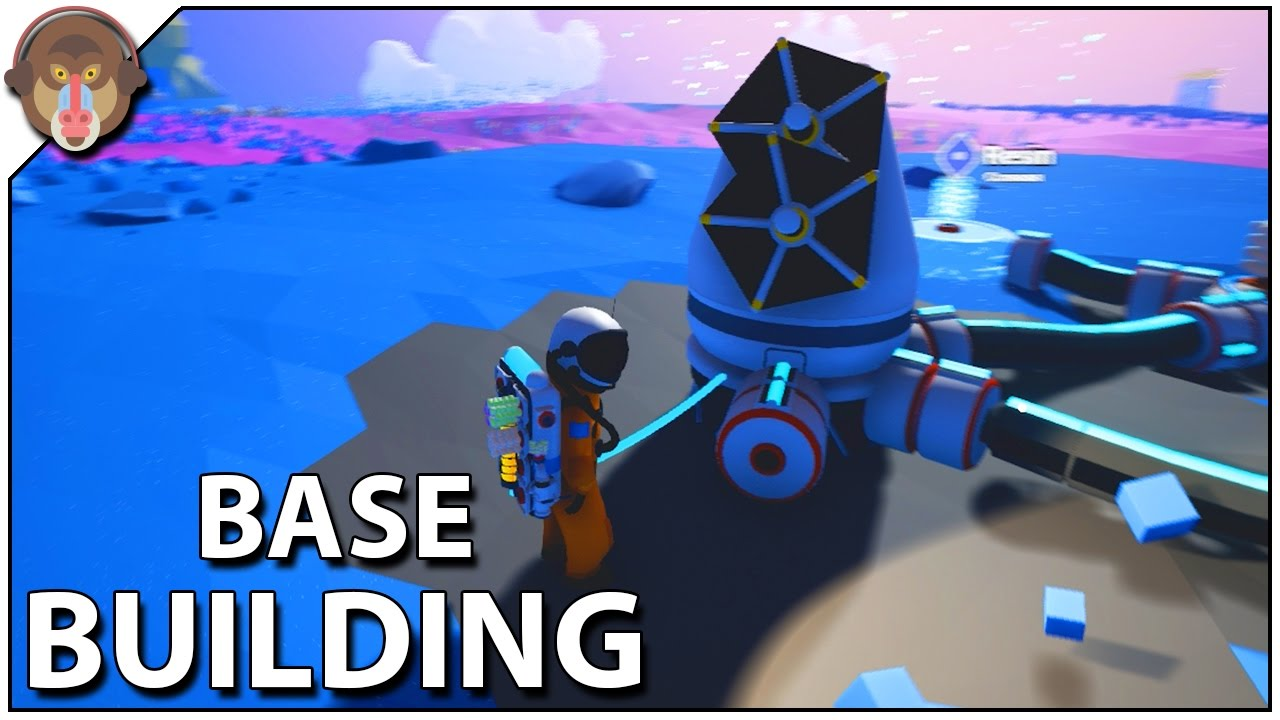 Astroneer Base Building Solar Panels Research
