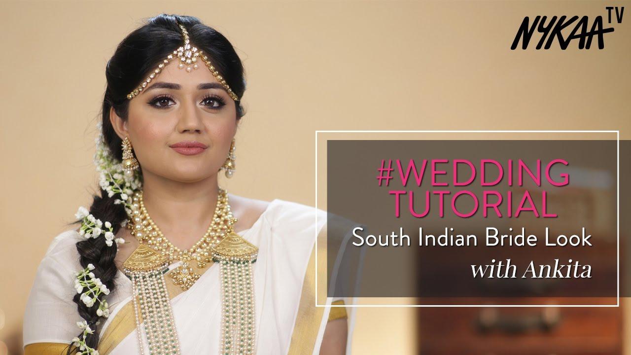 south indian bridal makeup tutorial ft. corallista | indian wedding makeup | nykaa