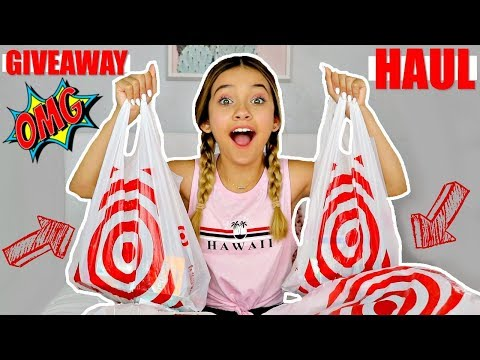 BACK TO SCHOOL TARGET SHOPPING HAUL 🎯     🔥 OPEN GIVEAWAY 🔥