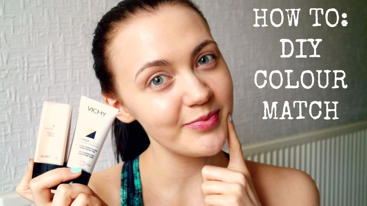How to colour match foundation makeup for beginners youtube how to colour match foundation makeup for beginners geenschuldenfo Gallery