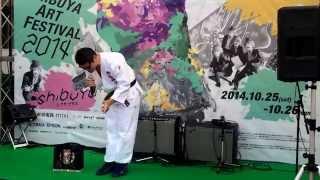 2014.10.25 渋谷にて開催された渋谷芸術祭でのヴァンパイアリゾット主催...