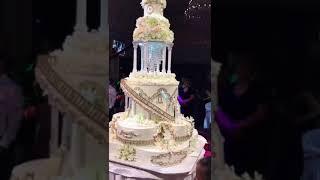 Красивый торт на свадьбу на заказ #sweetlovers_ru