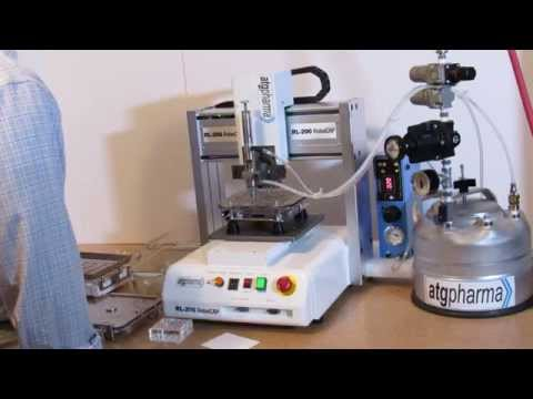 RoboCAP RL201 Robotic Liquid Capsule and Vial Filler